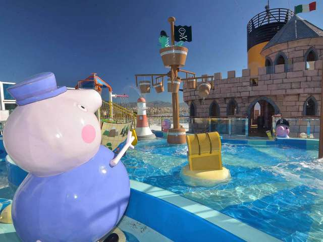 Peppa Pig e costa crociere