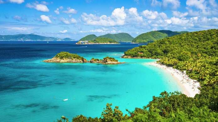 Trunk Bay, St. John (Isole Vergini Americane)